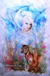 Artemis  mythologie